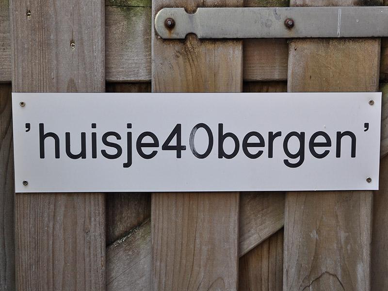 Huisje 40 Bergen