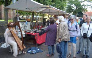 De kunstmarkt in Bergen NH