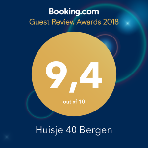 award booking.com huisje40